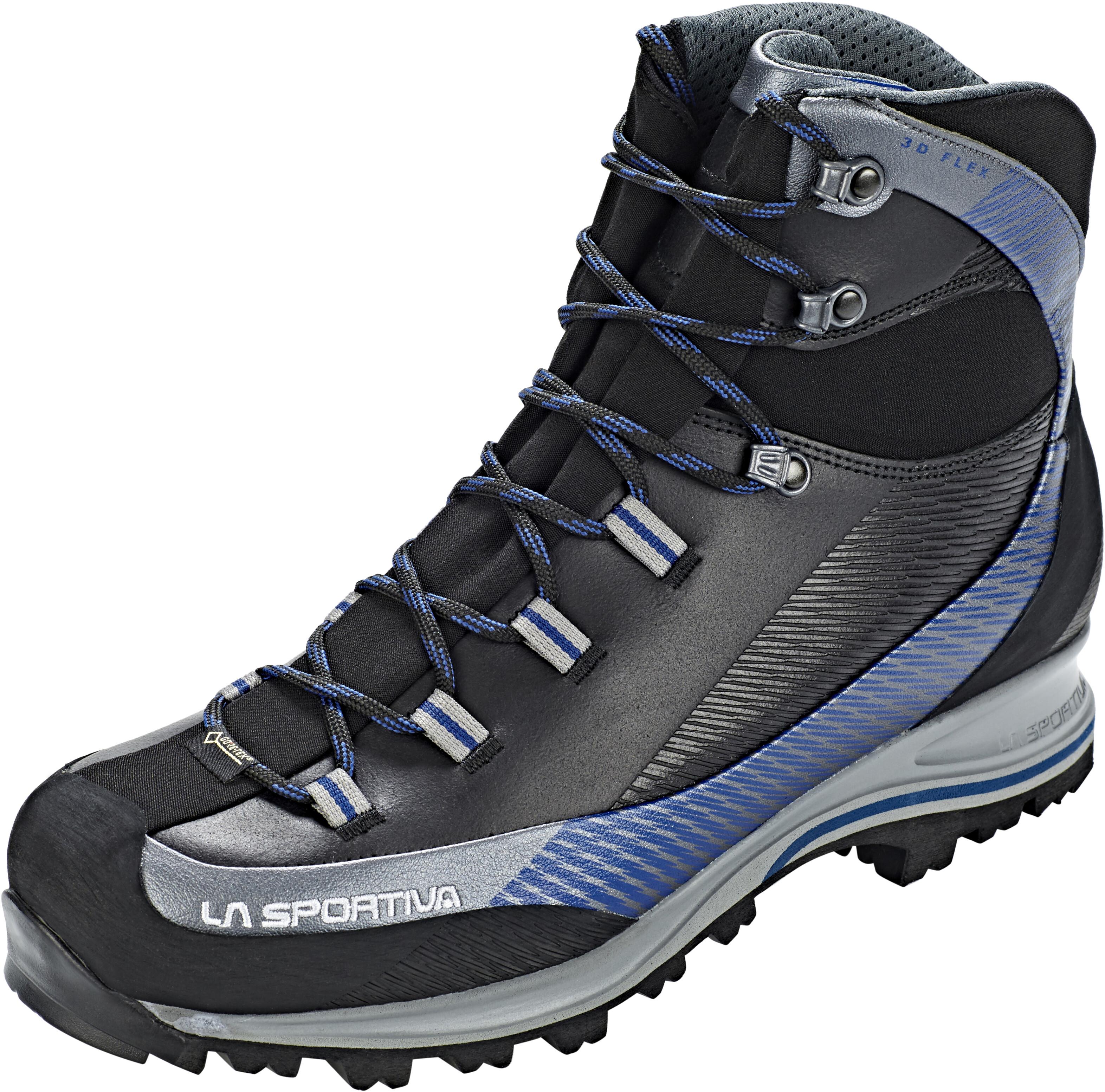 5ff0b7bad4a La Sportiva Trango TRK Leather GTX Shoes Men carbon/dark sea